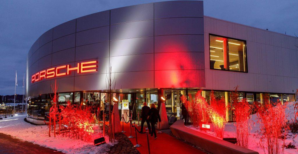 New Porsche Center Asker & Bærum in Norway.